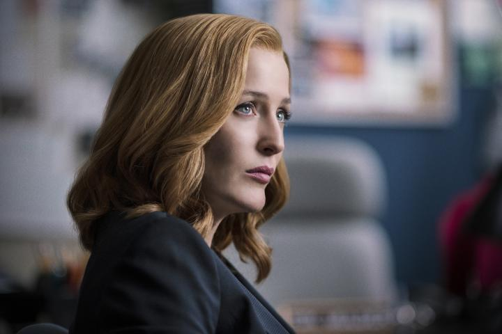 Gillian Anderson in The X-Files (1993)