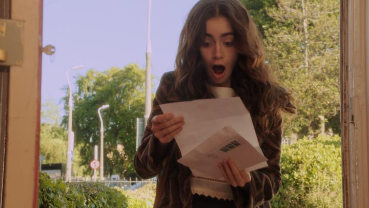 Lily Collins in Love, Rosie (2014)