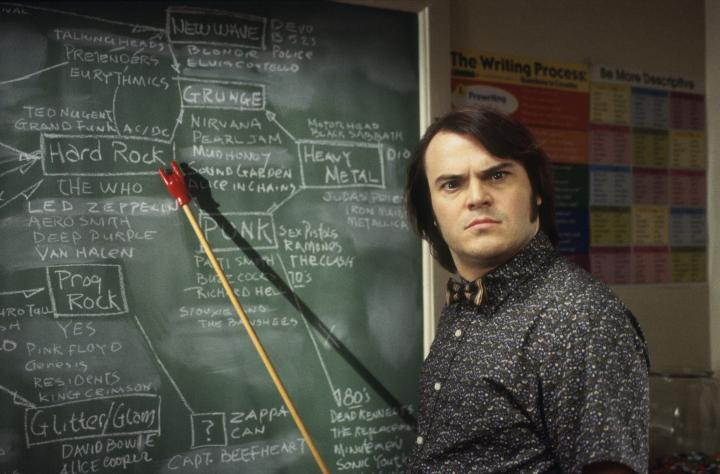 Jack Black in School of Rock (2003)