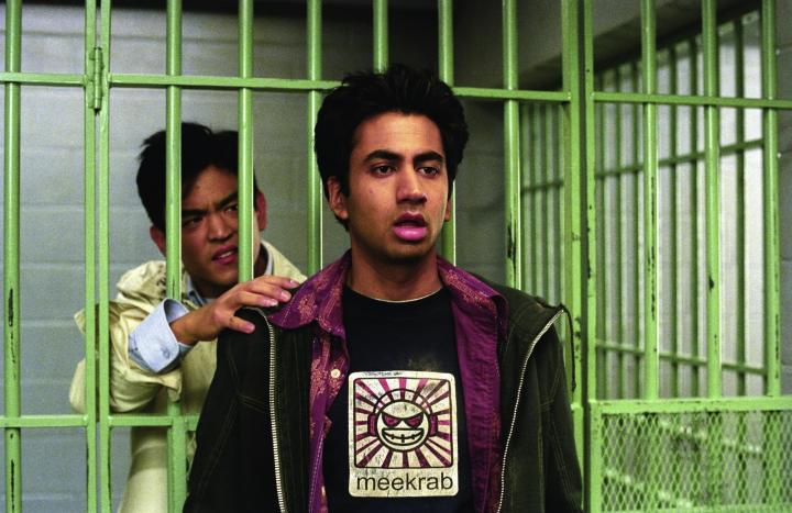 John Cho and Kal Penn in Harold & Kumar Go to White Castle (2004)