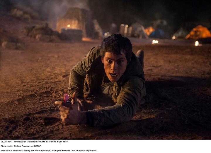Dylan O'Brien in Maze Runner: The Scorch Trials (2015)