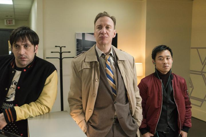 David Thewlis, Goran Bogdan, and Andy Yu in Fargo (2014)