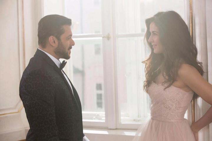 Salman Khan and Katrina Kaif in Tiger Zinda Hai (2017)