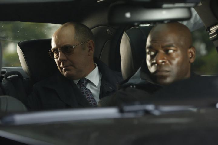 James Spader and Hisham Tawfiq in The Blacklist (2013)