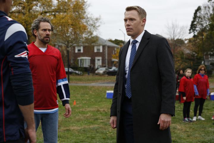 Diego Klattenhoff and Jason Schuchman in The Blacklist (2013)