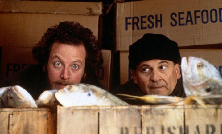 Joe Pesci and Daniel Stern in Home Alone 2: Lost in New York (1992)