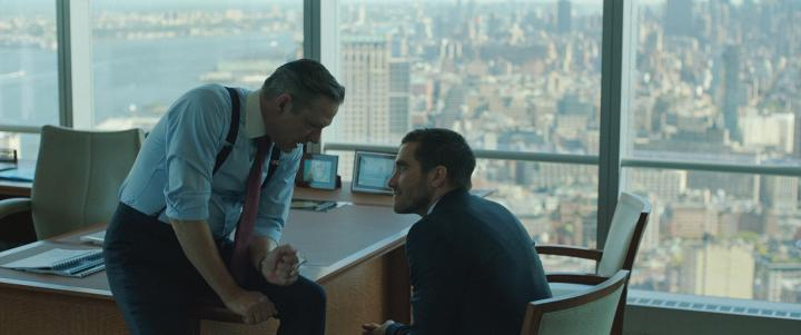 Chris Cooper and Jake Gyllenhaal in Demolition (2015)