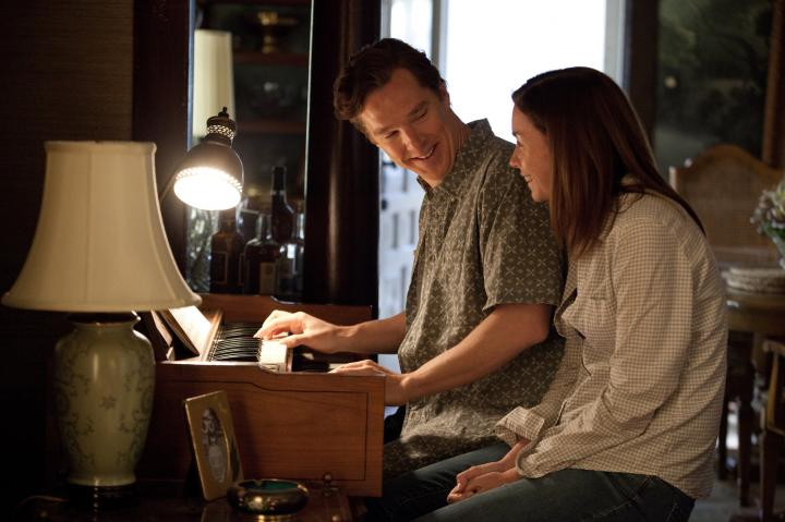 Julianne Nicholson and Benedict Cumberbatch in August: Osage County (2013)