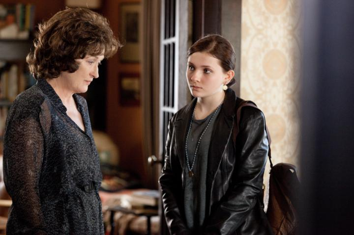 Meryl Streep and Abigail Breslin in August: Osage County (2013)