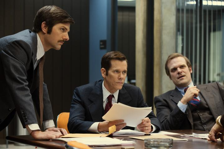 Kevin Bacon, Adam Scott, and David Harbour in Black Mass (2015)