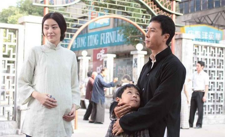 Donnie Yen and Lynn Hung in Ip Man 2 (2010)