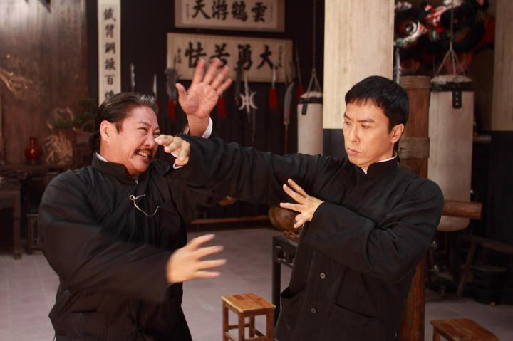 Sammo Kam-Bo Hung, Donnie Yen, and in Ip Man 2 (2010)