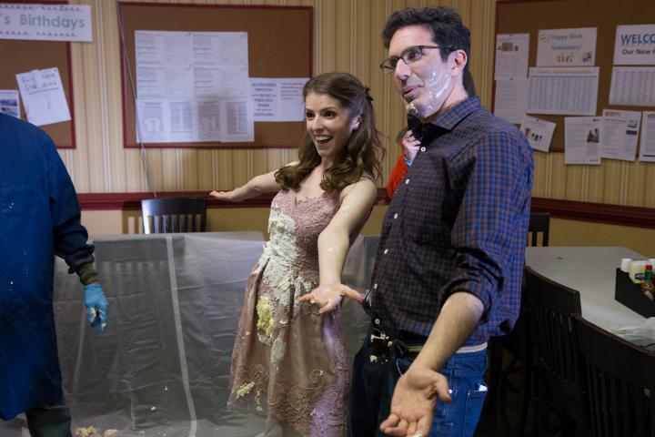 Anna Kendrick and Jeffrey Blitz in Table 19 (2017)