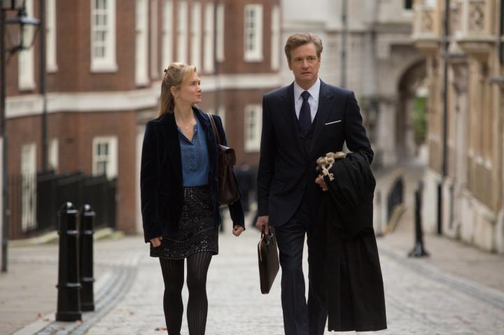 Colin Firth and Renée Zellweger in Bridget Jones's Baby (2016)