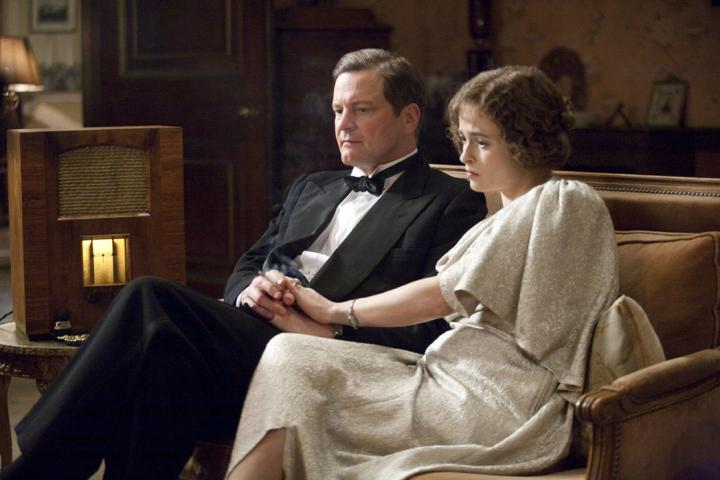 Colin Firth and Helena Bonham Carter in The King's Speech (2010)