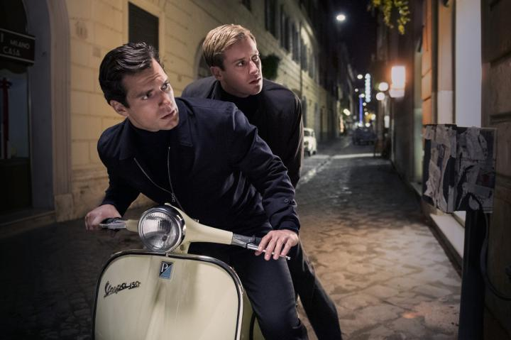 Henry Cavill and Armie Hammer in The Man from U.N.C.L.E. (2015)