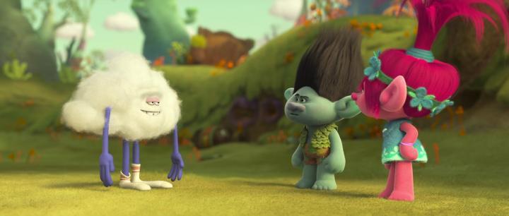 Justin Timberlake, Walt Dohrn, and Anna Kendrick in Trolls (2016)