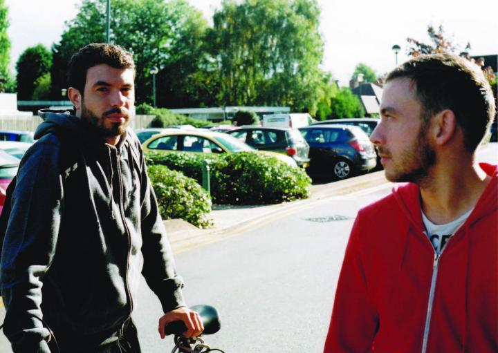 Tom Cullen and Chris New in Weekend (2011)