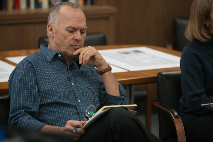 Michael Keaton in Spotlight (2015)