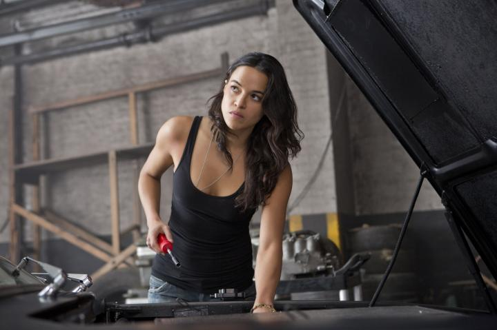 Michelle Rodriguez in Furious 6 (2013)
