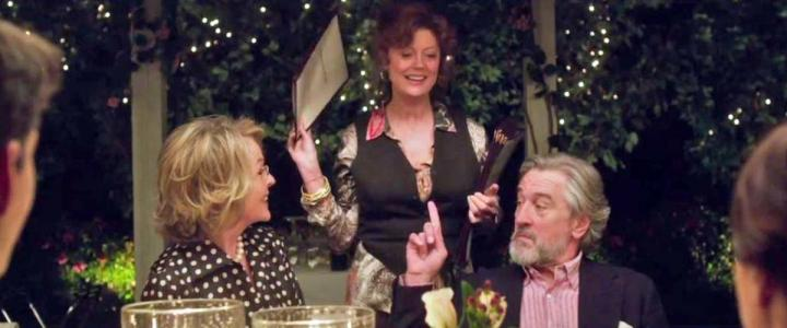 Robert De Niro, Susan Sarandon, and Diane Keaton in The Big Wedding (2013)