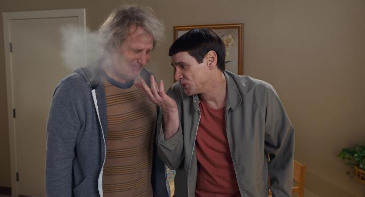 Jim Carrey and Jeff Daniels in Dumb and Dumber To (2014)