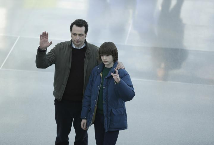 Matthew Rhys and Keidrich Sellati in The Americans (2013)