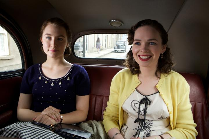 Saoirse Ronan and Eileen O'Higgins in Brooklyn (2015)