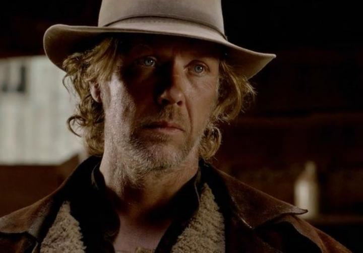 Mikael Persbrandt in The Salvation (2014)