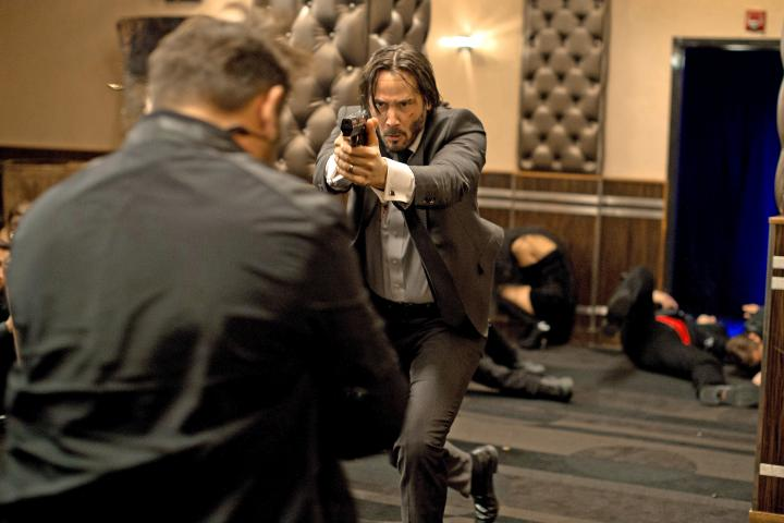 Keanu Reeves in John Wick (2014)