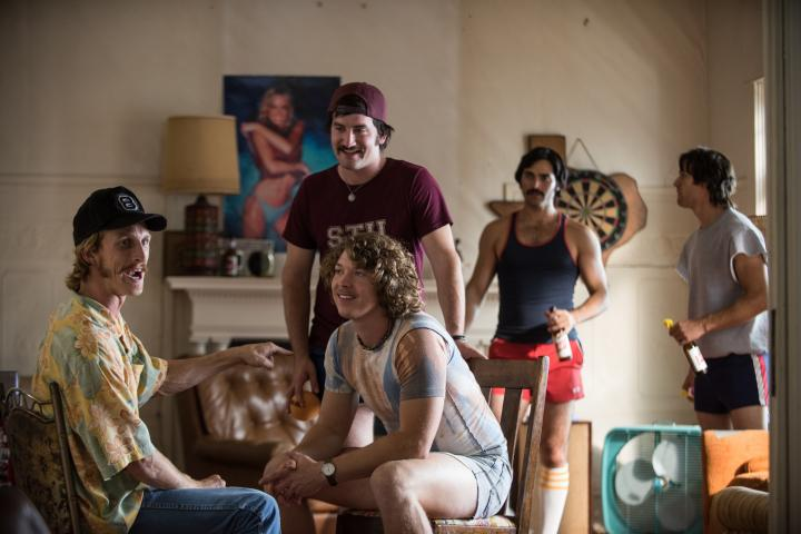 Tyler Hoechlin, Austin Amelio, Ryan Guzman, Forrest Vickery, and Tanner Kalina in Everybody Wants Some!! (2016)