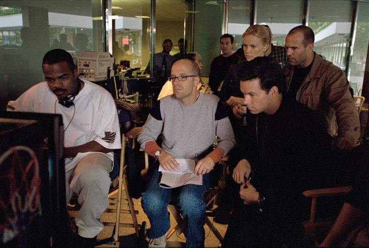 Charlize Theron, Mark Wahlberg, Jason Statham, and F. Gary Gray in The Italian Job (2003)