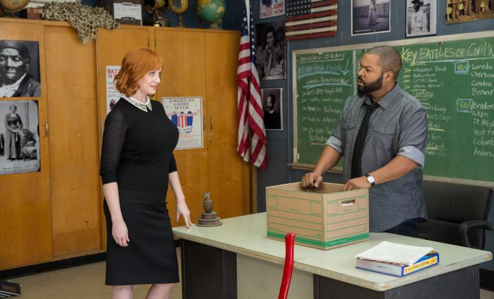 Ice Cube and Christina Hendricks in Fist Fight (2017)