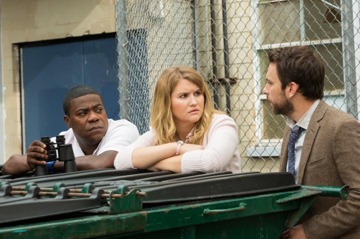 Charlie Day, Tracy Morgan, and Jillian Bell in Fist Fight (2017)