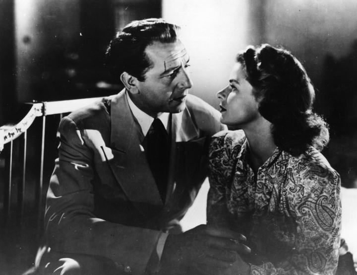 Ingrid Bergman and Paul Henreid in Casablanca (1942)