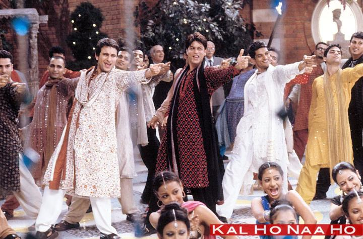 Saif Ali Khan and Shah Rukh Khan in Kal Ho Naa Ho (2003)