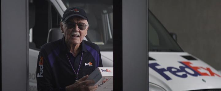 Stan Lee in Captain America: Civil War (2016)