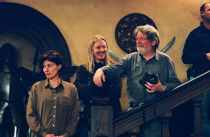 Donald McAlpine, Andrew Adamson, and Don McAlpine in The Chronicles of Narnia: The Lion, the Witch and the Wardrobe (2005)