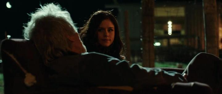 Michael Parks and Erin Moriarty in Blood Father (2016)