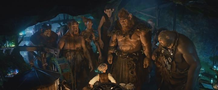 Daniel Bacon, Adam Godley, Bill Hader, Mark Rylance, Ólafur Darri Ólafsson, Michael Adamthwaite, Paul Moniz de Sa, Jemaine Clement, Jonathan Holmes, and Chris Gibbs in The BFG (2016)