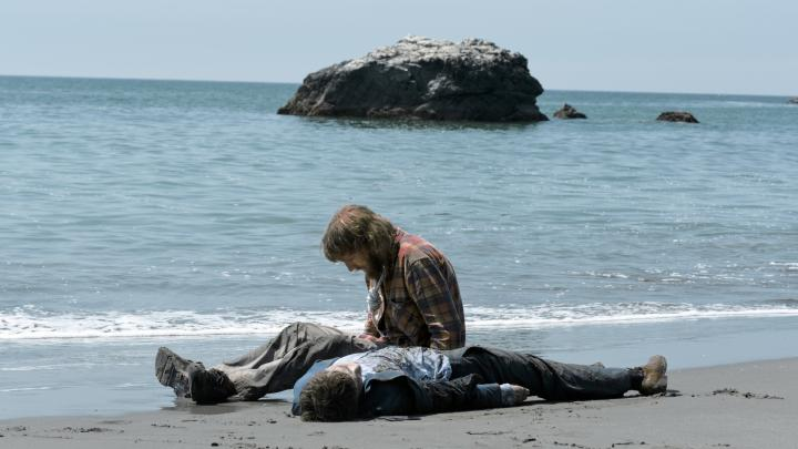 Paul Dano and Daniel Radcliffe in Swiss Army Man (2016)
