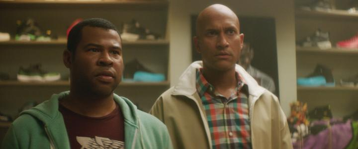 Keegan-Michael Key and Jordan Peele in Keanu (2016)
