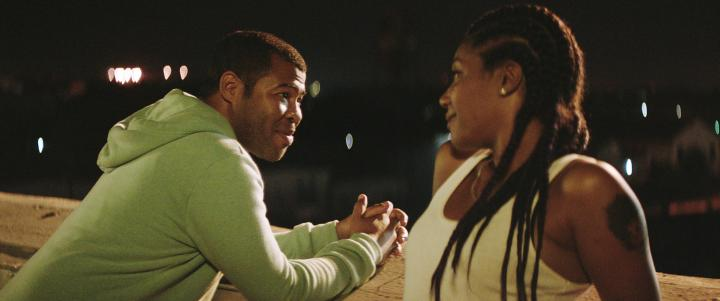 Jordan Peele and Tiffany Haddish in Keanu (2016)