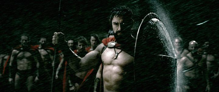 Gerard Butler in 300 (2006)