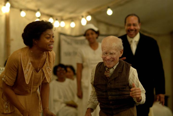 Brad Pitt and Taraji P. Henson in The Curious Case of Benjamin Button (2008)