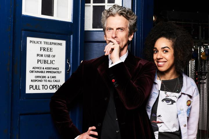 Peter Capaldi and Pearl Mackie in Doctor Who (2005)