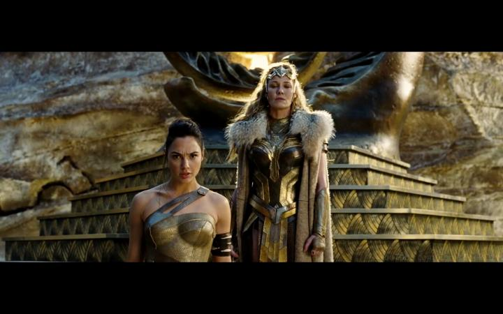 Robin Wright and Gal Gadot in Wonder Woman (2017)
