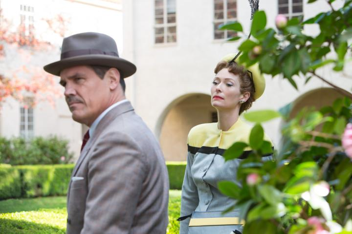 Josh Brolin and Tilda Swinton in Hail, Caesar! (2016)