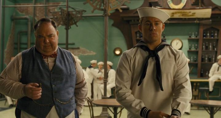 E.E. Bell and Channing Tatum in Hail, Caesar! (2016)