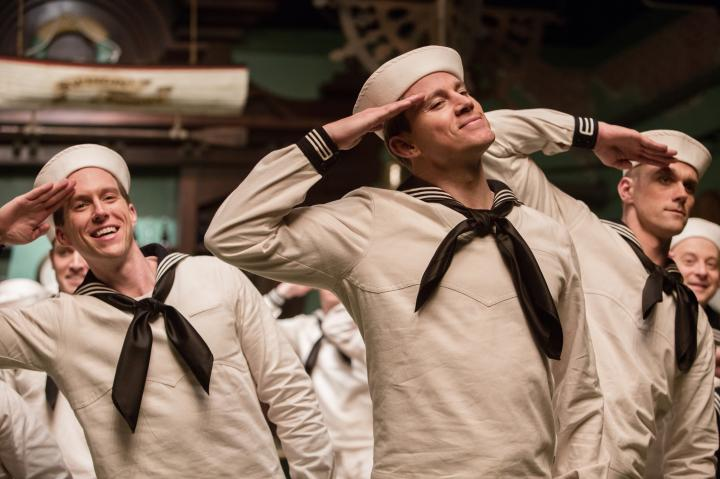 Channing Tatum and Clifton Samuels in Hail, Caesar! (2016)